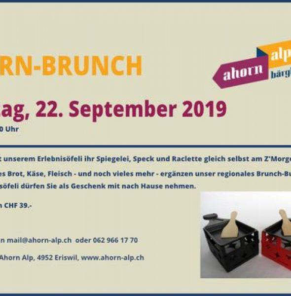 Grosser Ahorn-Brunch